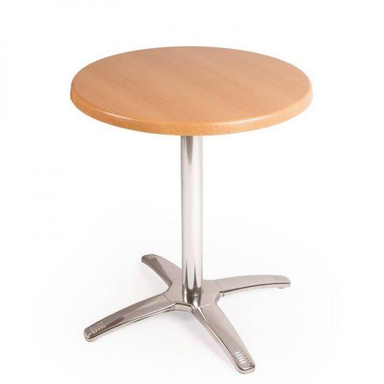 Special Offer Bolero Round Beech Table Top And Base Combo URO SA222