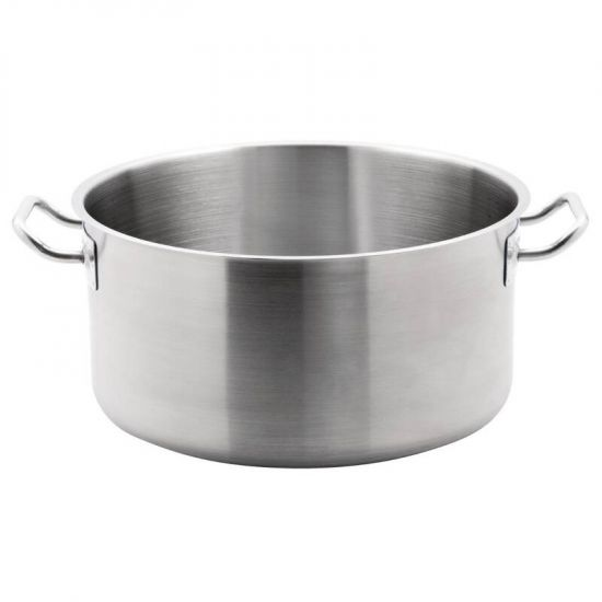 Vogue Stainless Steel Stew Pan 18.5Ltr URO T088