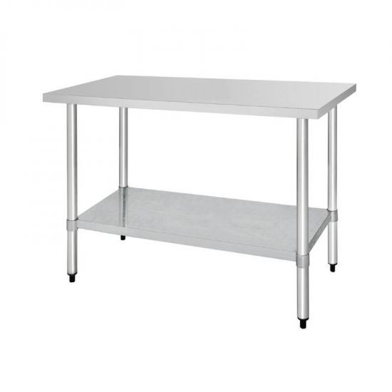 Vogue Stainless Steel Prep Table 1500mm URO T377