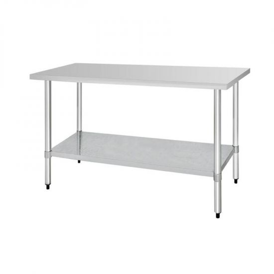 Vogue Stainless Steel Prep Table 1800mm URO T378