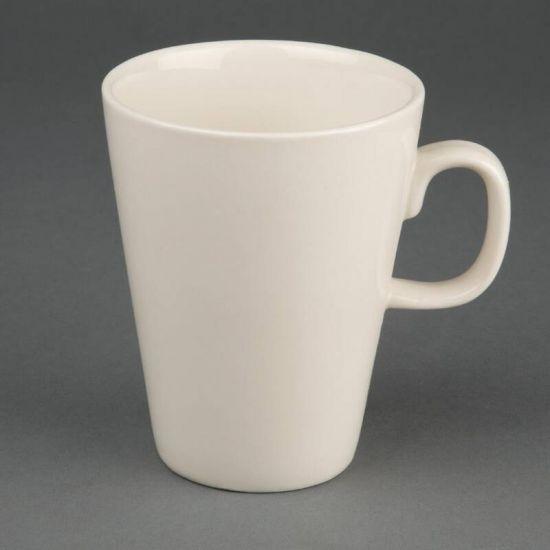 Olympia Ivory Latte Mugs 284ml 10oz Box of 12 URO U115
