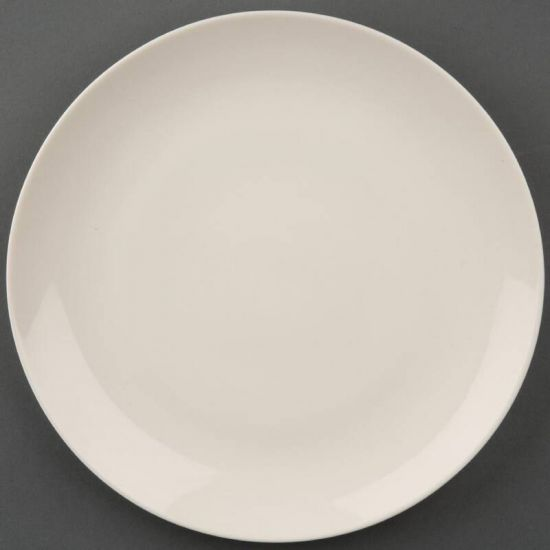 Olympia Ivory Round Coupe Plates 200mm Box of 12 URO U133
