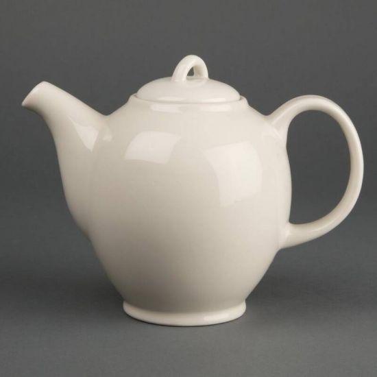Olympia Ivory Teapots 687ml 25oz Box of 4 URO U140