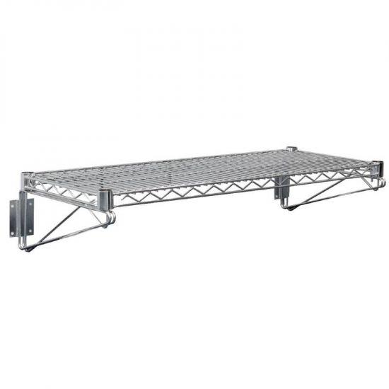 Vogue Steel Wire Wall Shelf 610mm URO U200