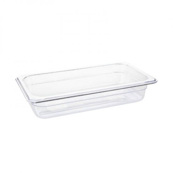 Vogue Polycarbonate 1/3 Gastronorm Container 65mm Clear URO U232