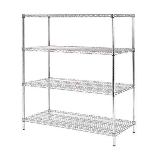 Vogue 4 Tier Wire Shelving Kit 1830x610mm URO U259