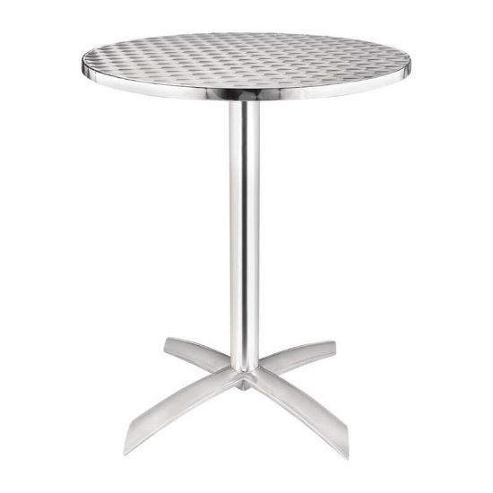 Bolero Flip-Top Table Stainless Steel 600mm URO U423