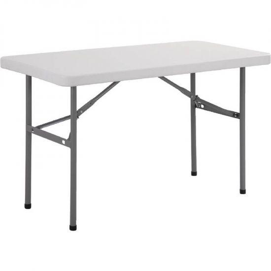 Bolero Foldaway Rectangular Utility Table 4ft URO U543