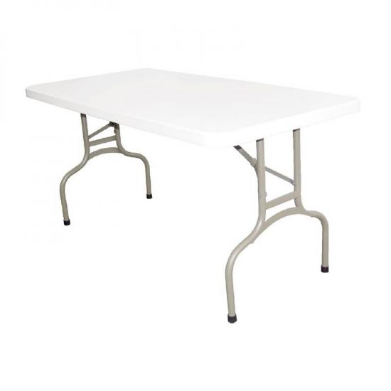 Bolero Foldaway Rectangular Utility Table 5ft URO U544