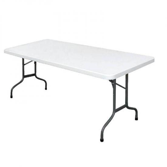 Foldaway Rectangular Utility Table 6ft URO U579