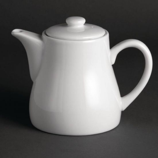 Olympia Whiteware Teapots 795ml 28oz Box of 4 URO U823