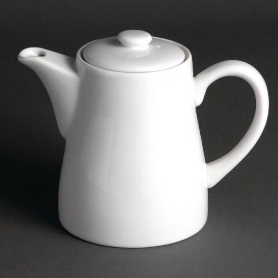 Olympia Whiteware Coffee Pots 653ml 24oz Box of 4 URO U825