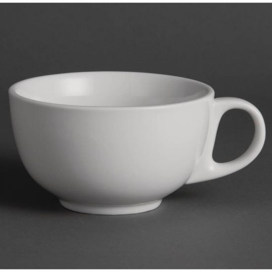 Olympia Whiteware Cappuccino Cups 425ml 15oz Box of 12 URO U827