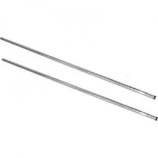 Vogue Chrome Upright Posts 1270mm Pack Of 2 URO U887