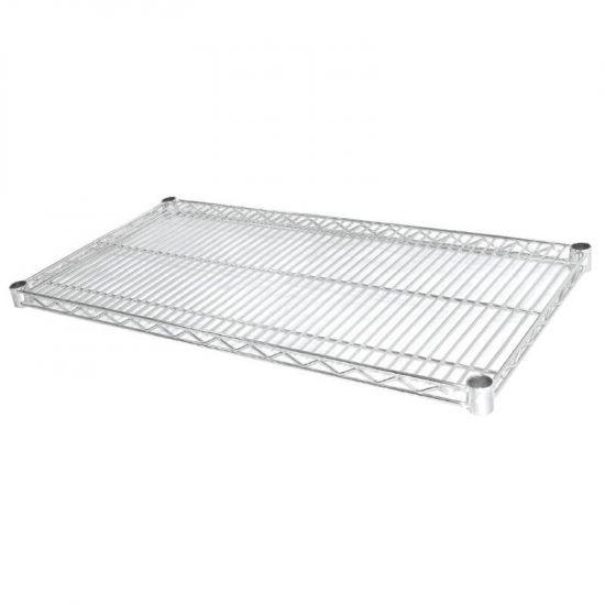 Vogue Chrome Wire Shelves 1525x610mm. Pack Of 2 URO U894