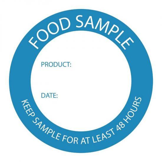 Food Sample Labels URO U915