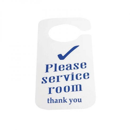 Do Not Disturb And Please Service Room Sign URO W346