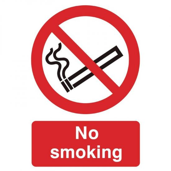 No Smoking Symbol Sign URO W391