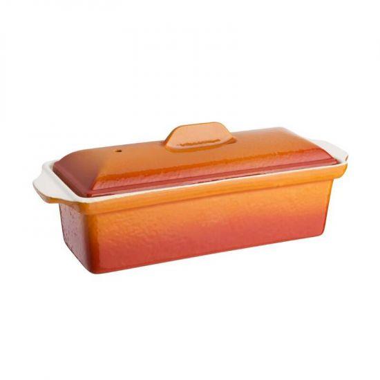 Vogue Orange Pate Terrine Mould 1.7Ltr URO W456