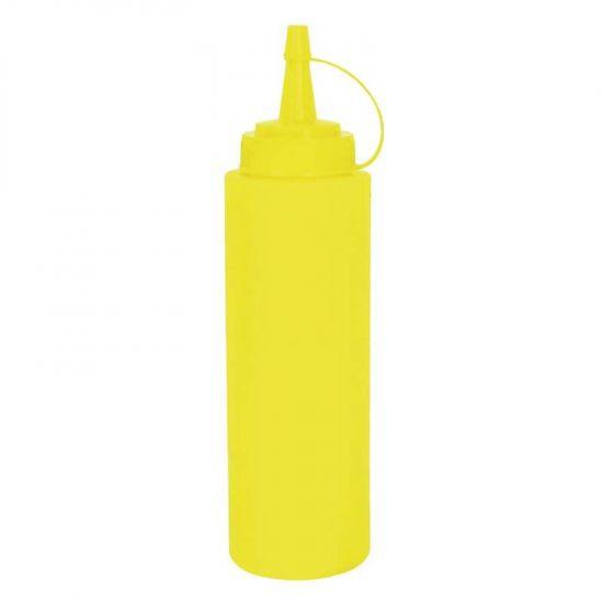 Vogue Yellow Squeeze Sauce Bottle 35oz URO W834