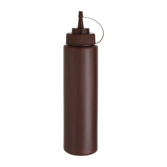 Vogue Brown Squeeze Sauce Bottle 35oz URO W835