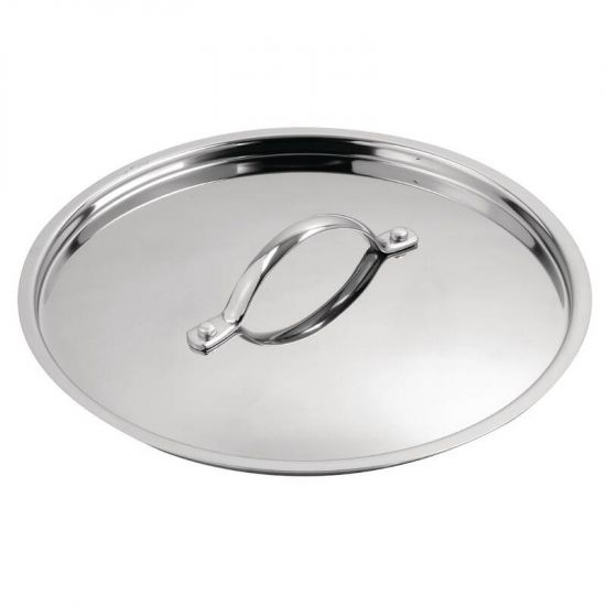 Vogue Tri Wall Stew Pan Lid 240mm URO Y425