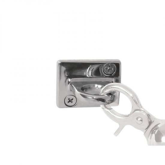 Bolero Chrome Wall Fixing URO Y733