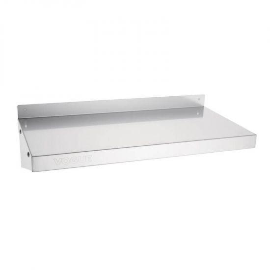 Vogue Stainless Steel Kitchen Shelf 600mm URO Y749