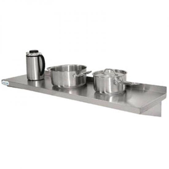 Vogue Stainless Steel Kitchen Shelf 1500mm URO Y752