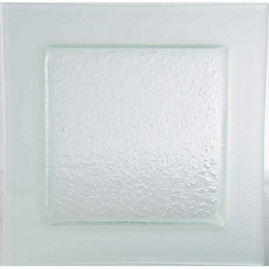 Gobi Square Plate Frost Edge 12.5 Inch (32cm) Box Of 6 UTT AG15203-FROST-B01006