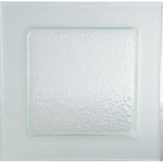 Gobi Square Plate Frost Edge 10.25 Inch (26cm) Box Of 6 UTT AG15303-FROST-B01006