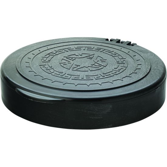 Black Hinged Tortilla Server 7 Inch (17.5cm) Box Of 12 UTT CA071003-0000-B01012