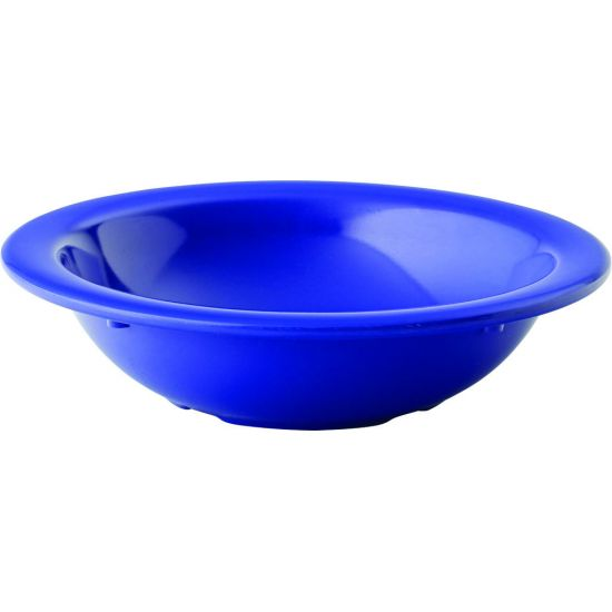 Dallas Ocean Blue Rimmed Fruit Bowl 9.75oz (28cl) Box Of 48 UTT CA43529DS14-B01048