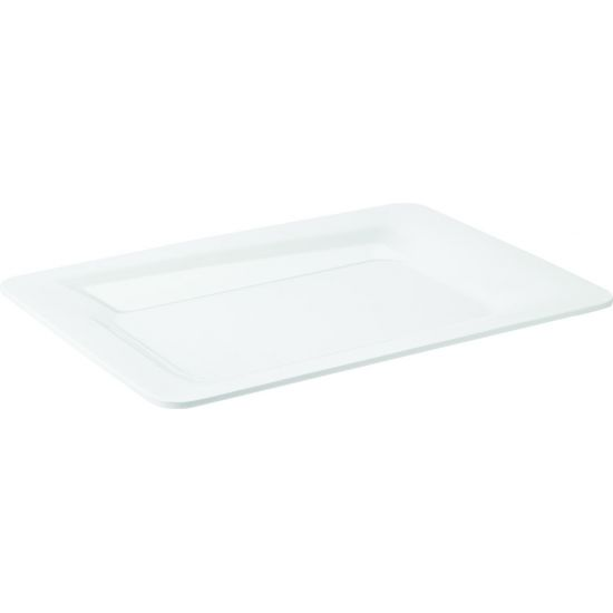 Palette White Rectangular Platter 14 X 10 Inch (36 X 25cm) Box Of 4 UTT CA44414DS02-B01004