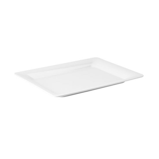 Palette White Rectangular Platter 17 X 13 Inch (43 X 33cm) Box Of 4 UTT CA44416DS02-B01004