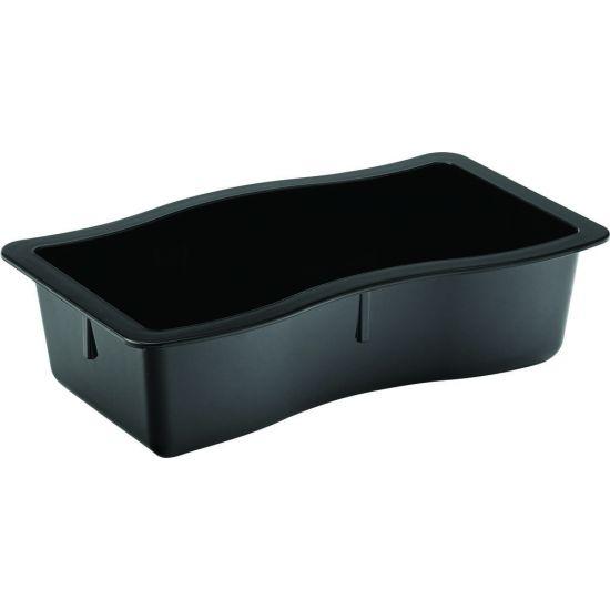Modular Deli Black Pan 10 X 6 X 2.75 Inch (25.5 X 15.25 X 7cm) Box Of 6 UTT CA698403-0000-B01006