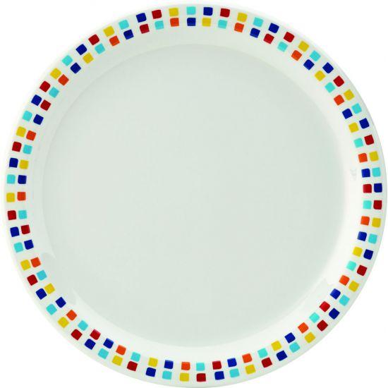 Kingline Spanish Tile Plate 9 Inch (23cm) Box Of 48 UTT CAKL200DS6174-B01048