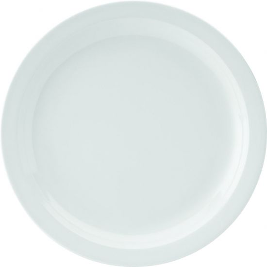 Kingline White Plate 7 Inch (18cm) Box Of 48 UTT CAKL201DS02-B01048