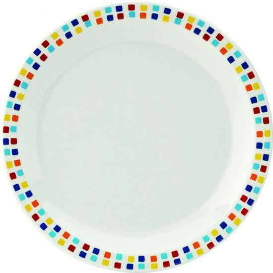 Kingline Spanish Tile Plate 6.25 Inch (16cm) Box Of 48 UTT CAKL204DS6174-B01048