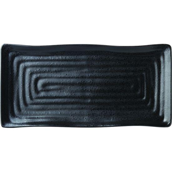 Tribeca Ebony Platter 10 Inch (26cm) Box Of 6 UTT CT0016-000000-B01006