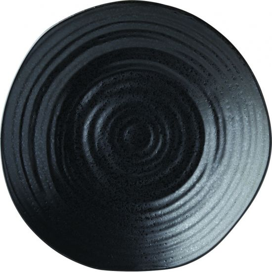 Tribeca Ebony Plate 8.25 Inch (21cm) Box Of 6 UTT CT0019-000000-B01006