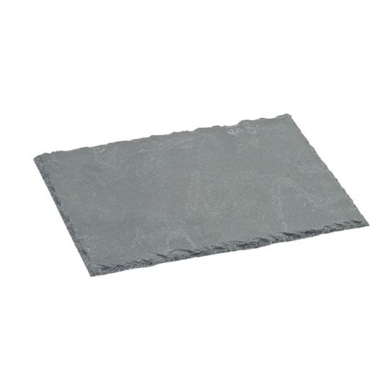 Slate Platter 8.25 X 7 Inch (21 X 18cm) Box Of 6 UTT CT0036-000000-B01006