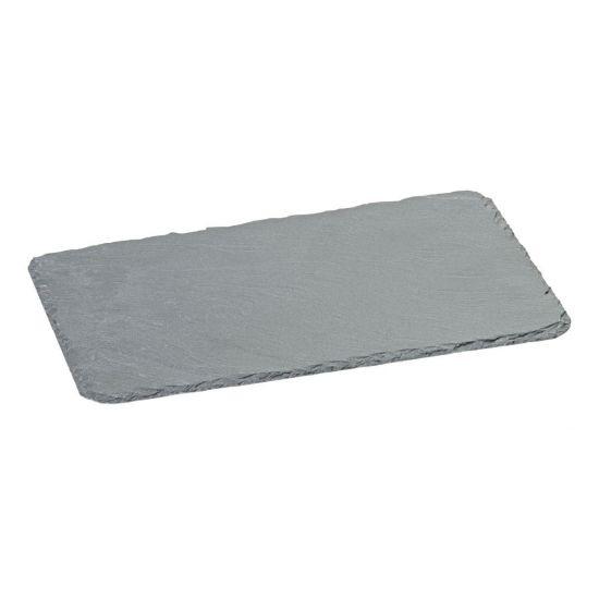 Slate Platter 9.5 X 6 Inch (24 X 15cm) Box Of 6 UTT CT0038-000000-B01006