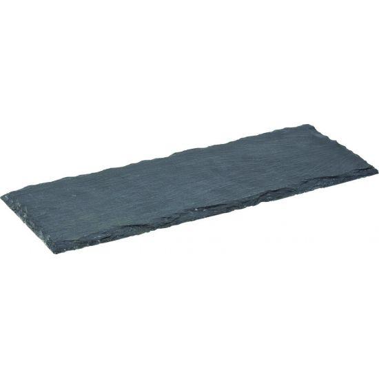 Rectangular Slate Platter 12.5 X 4.5 Inch (32 X 12cm) Box Of 6 UTT CT0044-000000-B01006