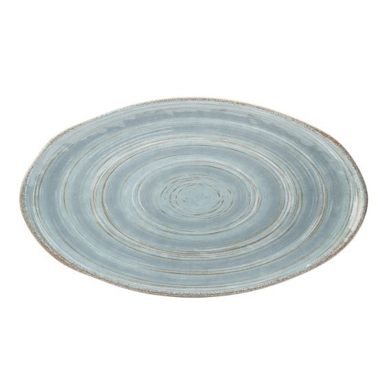 Wildwood Blue Platter 20.75 X 11.75 Inch (52.5 X 30cm) Box Of 6 UTT CT1036-000000-B01006