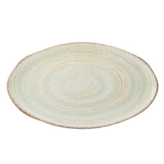 Wildwood Green Platter 20.75 X 11.75 Inch (52.5 X 30cm) Box Of 6 UTT CT1039-000000-B01006