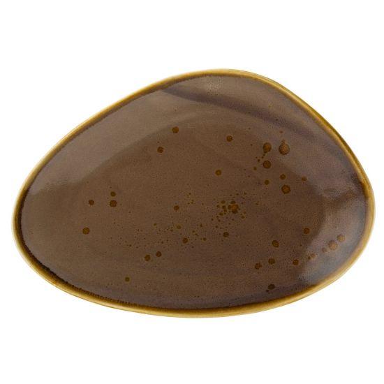 Earth Mocha Oblong Plate 11.5 Inch (29cm) Box Of 6 UTT CT2027-000000-B01006