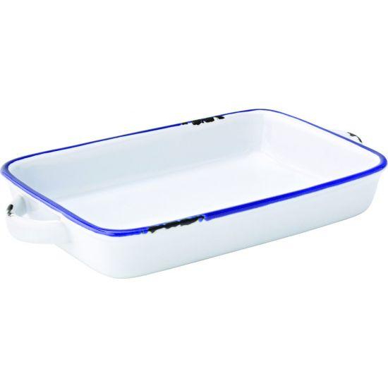 Avebury Blue Large Rectangular Dish 8.5 Inch (22cm) Box Of 12 UTT CT6007-000000-B01012