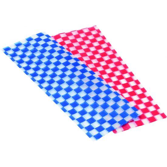Wax Liner Blue 12 Inch (30cm) (Pack Of 500) Pack Of 500 UTT CT8008-000000-B01001