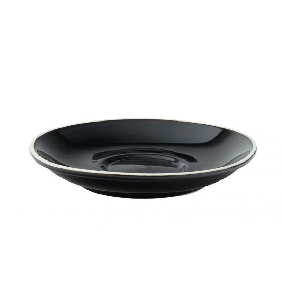 Barista Black Saucer 5.5 Inch (14cm) Box Of 12 UTT CT8120-000000-B01012